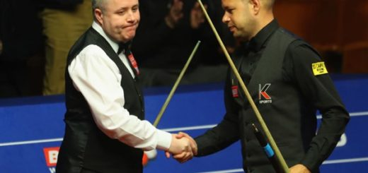 Barry Hawkins und John Higgins