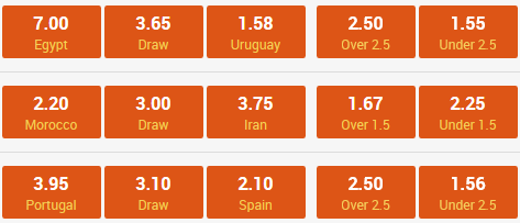 football bets 15 june