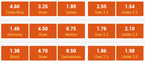 world cup betting 17-06-2018